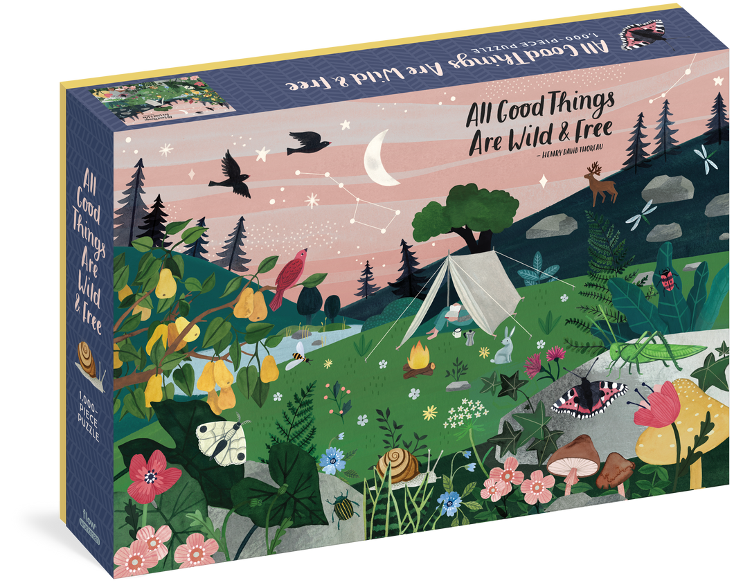 All Good Things Are Wild & Free Puzzle