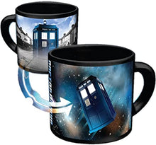 Load image into Gallery viewer, BBC Doctor Who Disappearing Tardis Mug