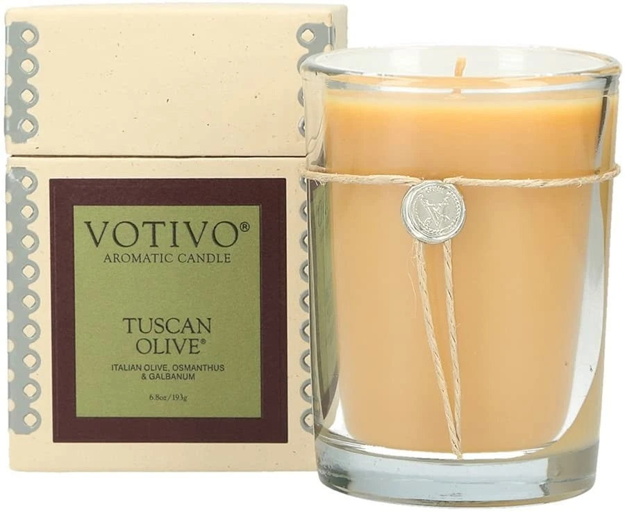 Tuscan Olive Votivo Candle