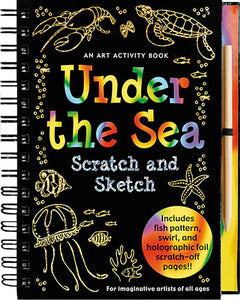 Scratch and Sketch: An Art Activity Book