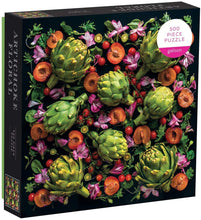 Load image into Gallery viewer, 500 Piece Artichoke Floral Jigsaw Puzzle