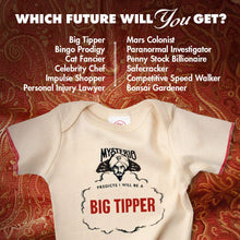 Load image into Gallery viewer, Mysterio Future Prediction Baby T-Shirt