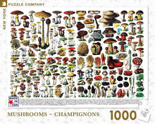 Load image into Gallery viewer, Mushrooms ~ Champignons Puzzle