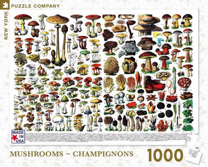 Mushrooms ~ Champignons Puzzle