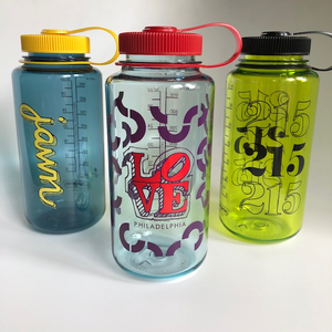 Philly Themed 32oz Nalgene Water Bottles