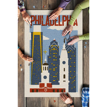"Load image into Gallery viewer, 1000 Piece Philadelphia Puzzle ""City Skyline"""