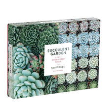 Load image into Gallery viewer, Succulent Garden 500 Piece Puzzle