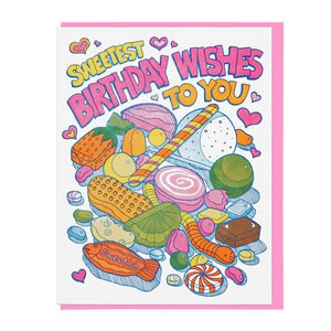 Sweetest Wishes Birthday Card