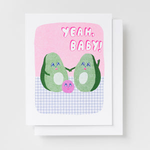Avocado Baby Card