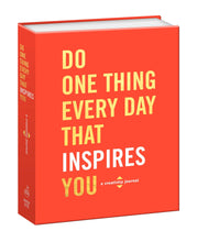 Load image into Gallery viewer, Do One Thing Every Day That Inspires You Creativity Journal