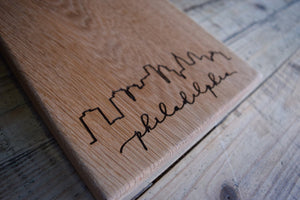 Philadelphia Oak Cutting Board