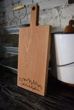 Load image into Gallery viewer, Philadelphia Oak Cutting Board