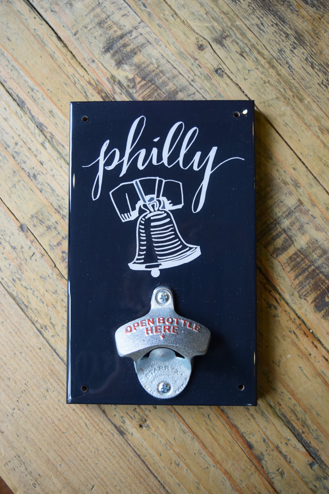 Philly Black & White Bottle Openers