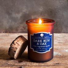 Load image into Gallery viewer, Dark Rum & Oak Candle