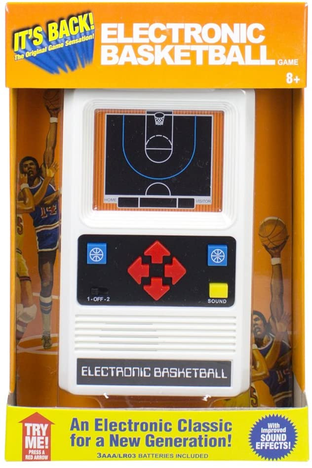 Retro Electronic Basketball Handheld Game