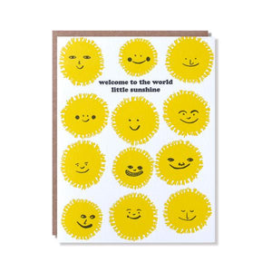 Little Sunshine Card