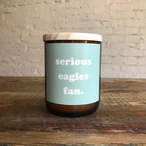 Philly Candle - Serious Eagles Fan