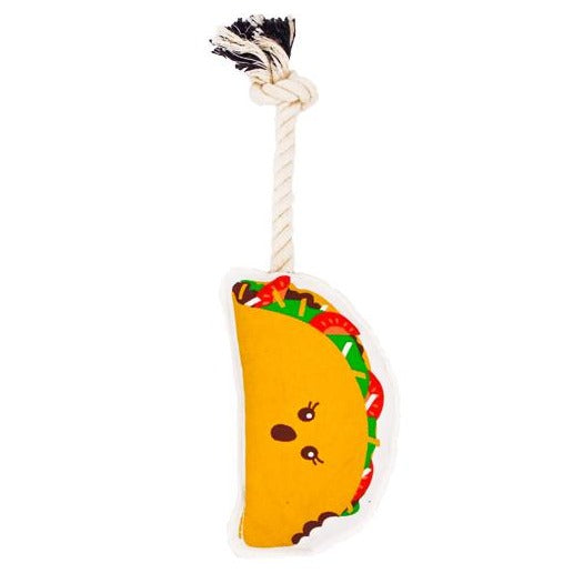 Taco Rope Dog Toy