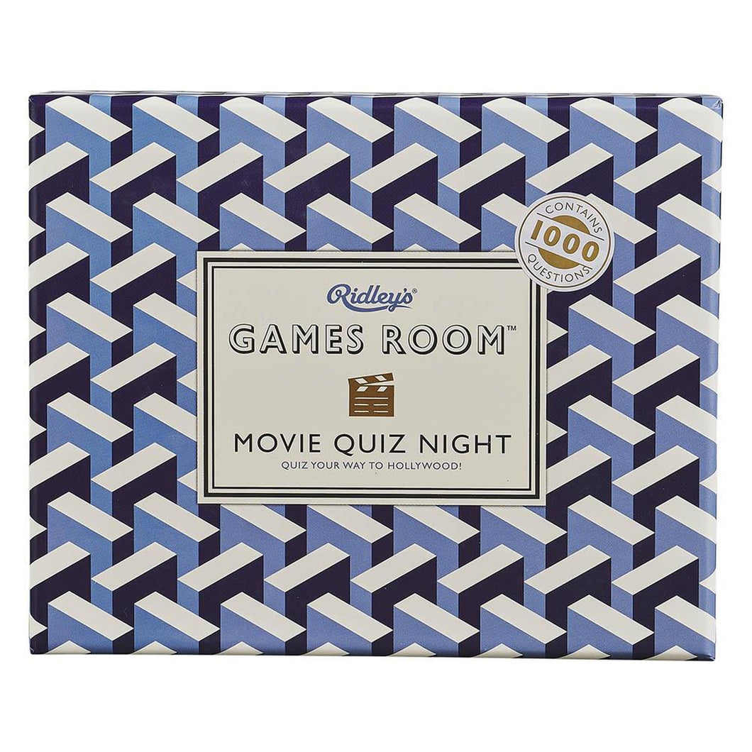 Games Room Movie Quiz Night