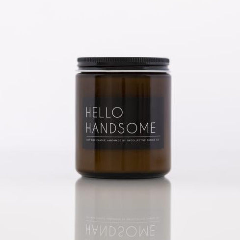 Hello Handsome Soy Candle