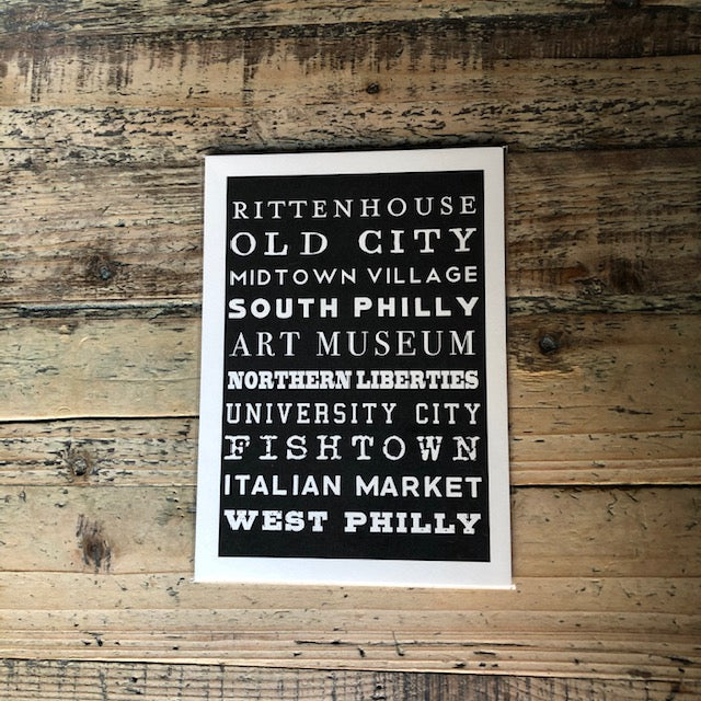 Philly Prints - Black & White Series