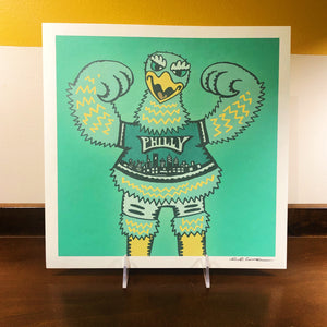 Philly Eagle Print