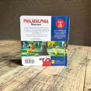 Philadelphia Monsters: A Search and Find Book