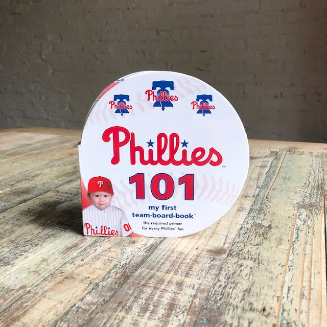 Phillies 101 Board Book