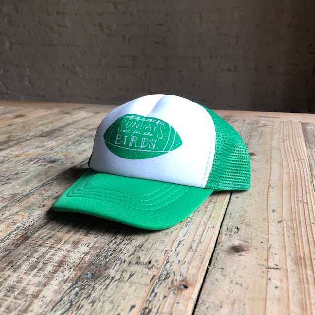Sundays are for the Birds Baby Snapback Hat