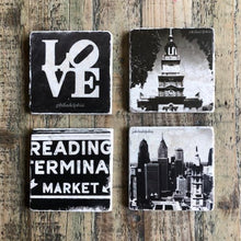 Load image into Gallery viewer, Philadelphia coasters $14 each
