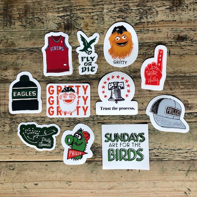 Philly Sports Stickers