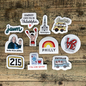 Philly Icons Stickers
