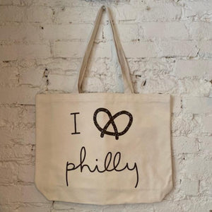 I Pretzel Philly Tote