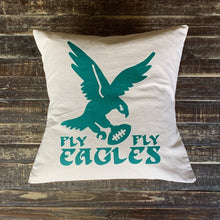 Load image into Gallery viewer, Canvas Eagles Pillow