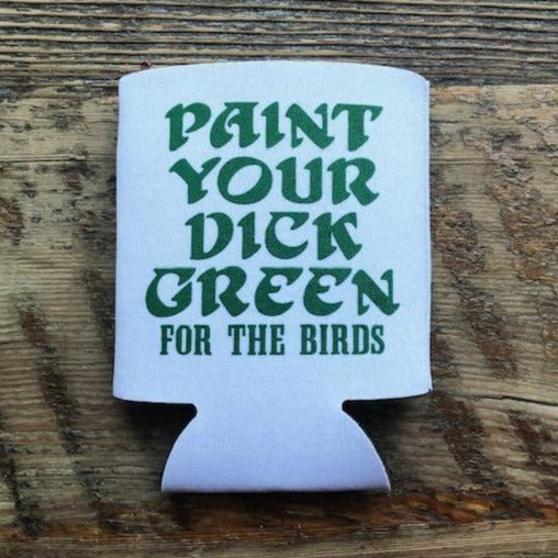 For the Birds Beer Koozie