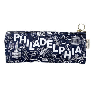 Philadelphia Icons Pencil Pouch