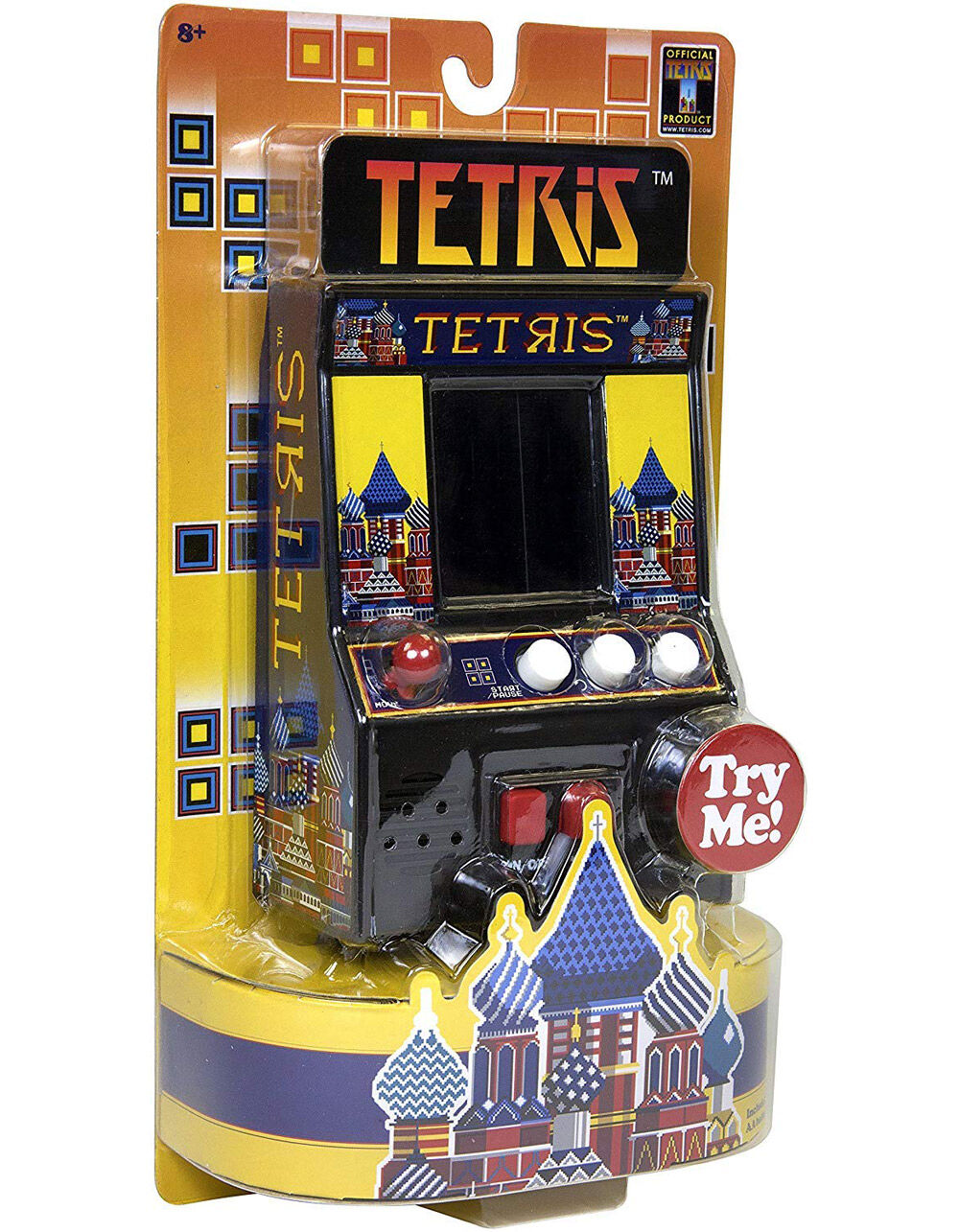 Tetris Retro Arcade Game
