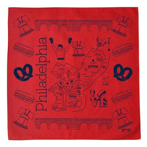 Red Philly Bandana
