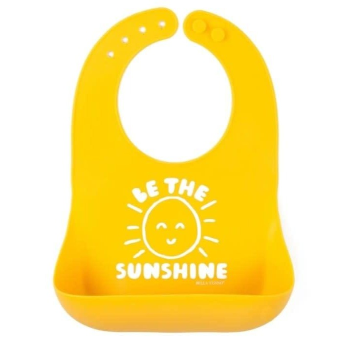 Silicone Wonder Bib - Be The Sunshine