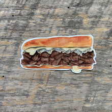 Load image into Gallery viewer, Philadelphia Cheese Steak Vinyl Sticker