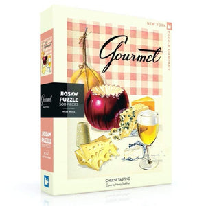 Gourmet Cheese Tasting Puzzle