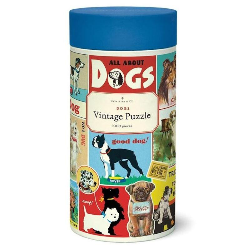 Dogs 1000 Piece Puzzle