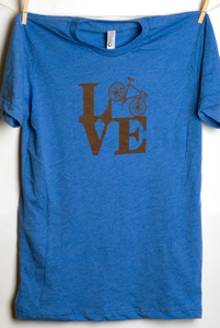 LOVE Bike Men's T-Shirt