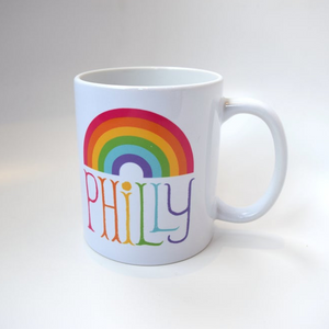Philly Rainbow Mug