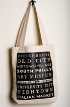 Load image into Gallery viewer, Philly Neighborhood Totes