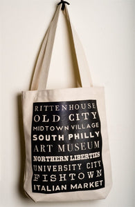 Philly Neighborhood Totes