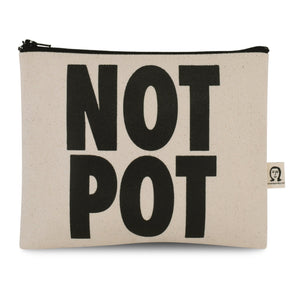 Not Pot Canvas Pouch