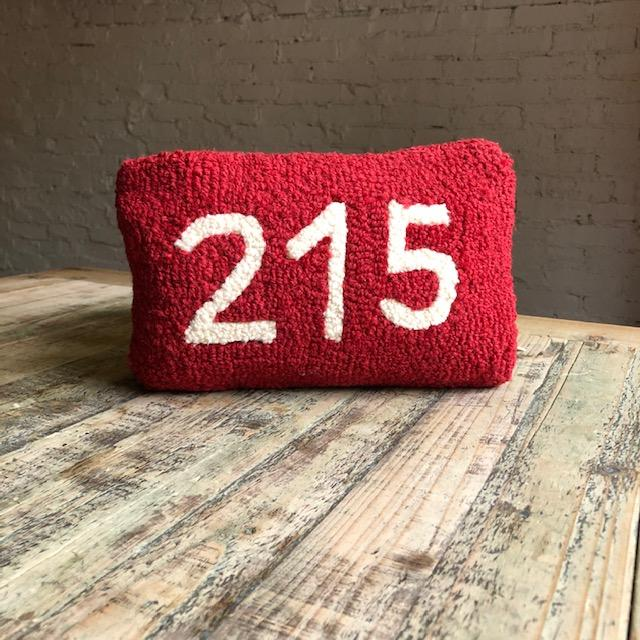 215 Hooked Wool Pillow
