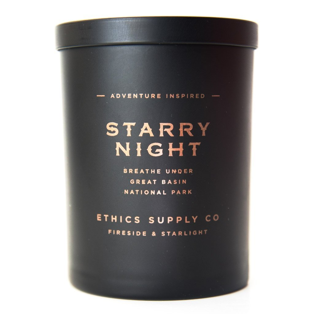 Starry Night Candle