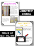 Exit Tickets - 5th Grade Operations & Algebraic Thinking